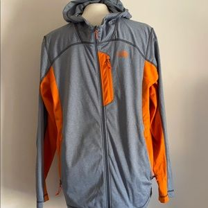 The North Face full zip sweater NWT
